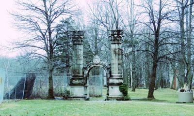 Porte d'entrée du parc Guild