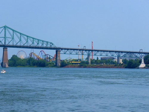 Saint-Laurent, pont Cartier