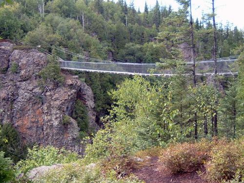 Pont du parc Aiguebelle