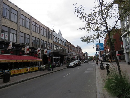 Terrasses de la rue des Forges