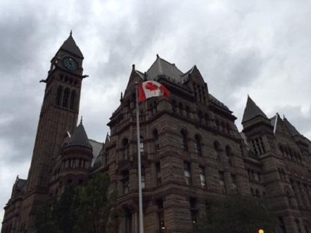 Hôtel de ville de Toronto flag