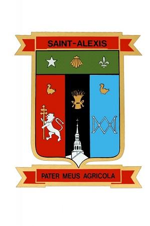 Armoiries de Saint-Alexis-de-Montcalm.