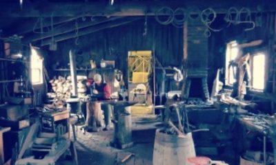 L'atelier du cordonnier dans le village Black Creek Pioneer Village, à Toronto. Photographie de Megan Jorgensen.
