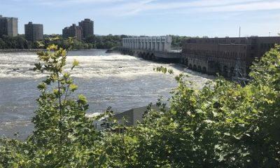 Barrage de la rivière des Prairies