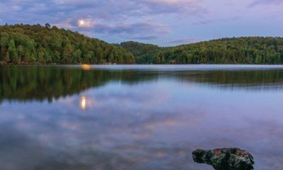 Lac Bibite. Source de la photographie: Site Internet de Lac-Tremblant-Nord. Photographe Laurie Ann Quigley.