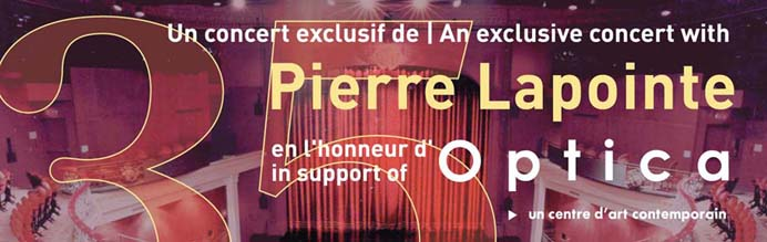 Concert de Pierre Lapointe