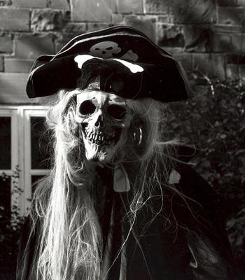 Le capitaine fantôme à l'étrange sourire