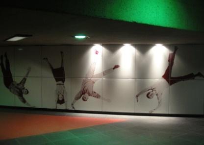 acadie métro station