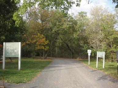accueil parc de l'île de la visitation