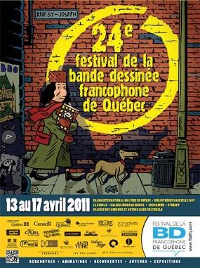 affiche 2011 bande dessinée