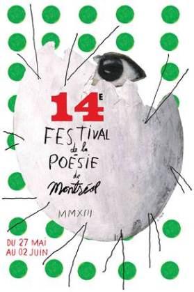 affiche festival poésie