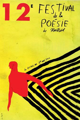 affiche festival poésie de Montréal