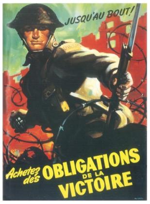 Seconde Guerre Mondial, affiche