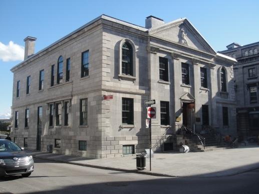 ancienne douane de montréal