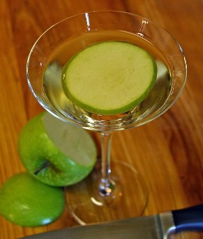 cocktail appletini