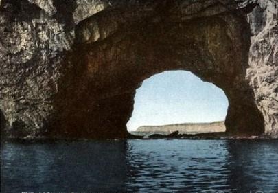 arch rocher percé