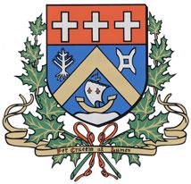 Les armoiries de la ville Sainte-Anne-des-Monts