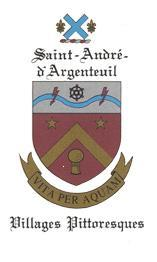 armoiries de saint-andré-d'argenteuil