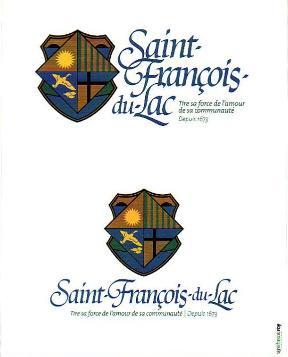 armoiries de st françois du lac