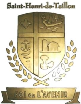 armoiries de st-henri-de-taillon