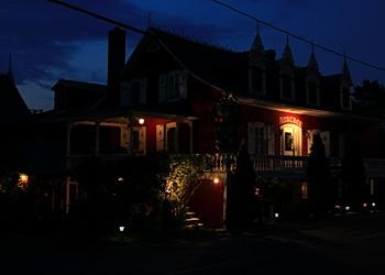 auberge du bic, la nuit