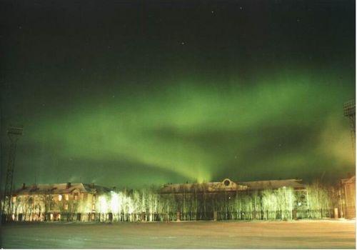 les aurores boréales. Aurore_boreale_photo