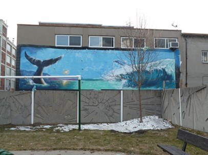 baleine de montréal