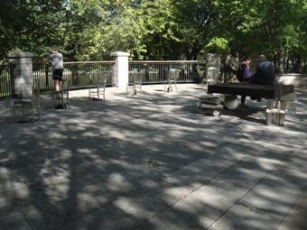 belverdere du parc la fontaine