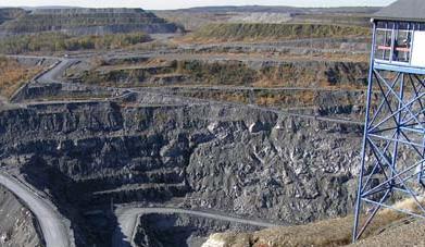 Belvédère de la mine
