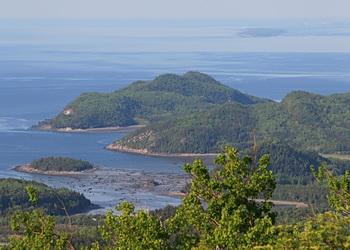 vue panoramique des îles du bic