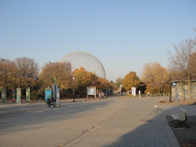 biosphere et parc jean drapeau