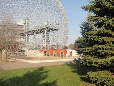 biosphere parc drapeau