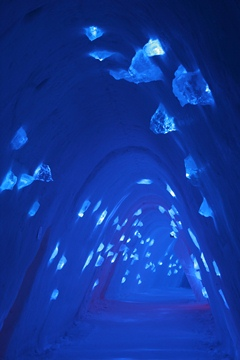 couloir bleu