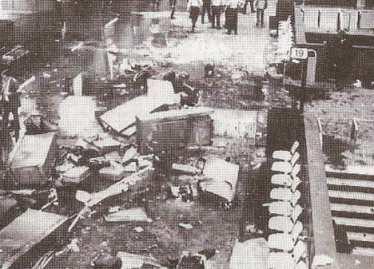 bombe gare centrale