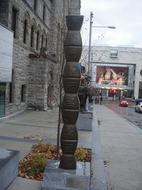 colonne de buspar
