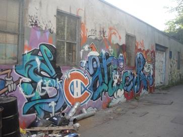graffiti canadien de montréal