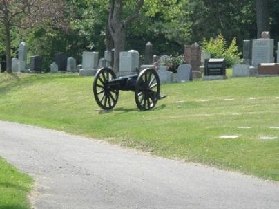 canon cimetière