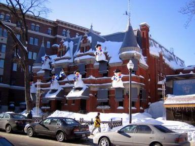 maison de neiges