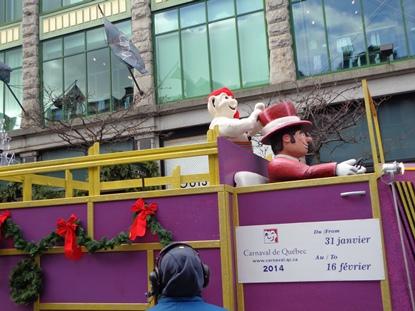char du carnaval de québec