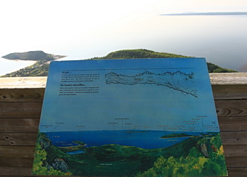 carte des sentiers du bic