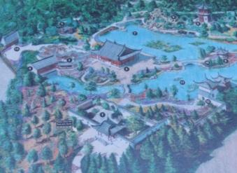 carte du jardin