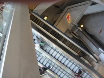 centre de la défense escaliers