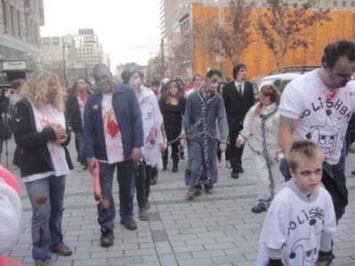 chaine zombie