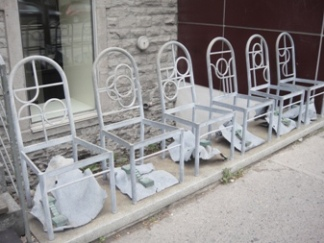 chaises usagés