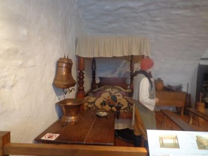 chambre à coucher du château Ramezay
