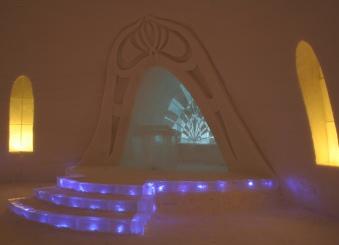 chapelle du village des glaces