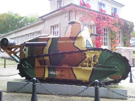 char de combat français