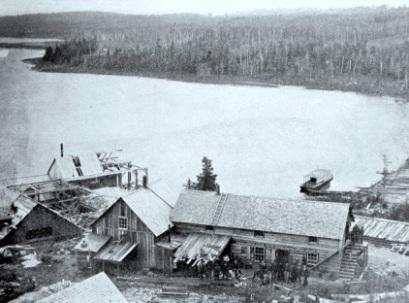 chevalement minier 1900