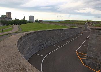 citadelle de québec place d'armes