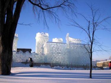 concours sculptures sur neige